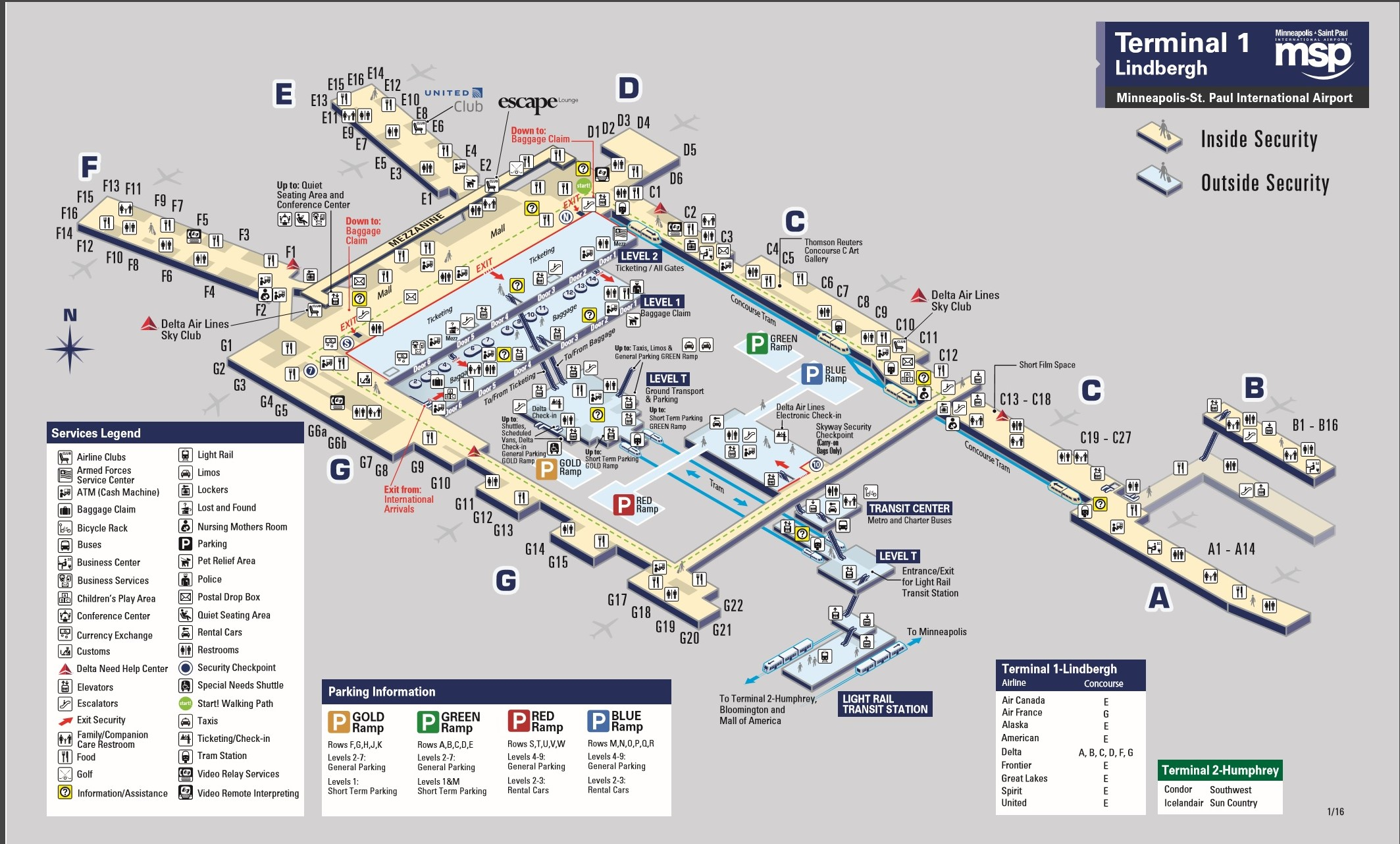 Msp Airport Map Related Keywords Amp Suggestions  Msp